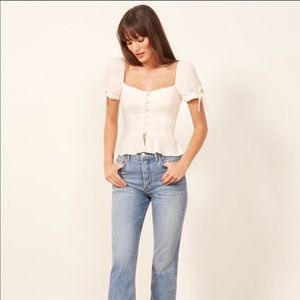 Reformation holland top - size 6